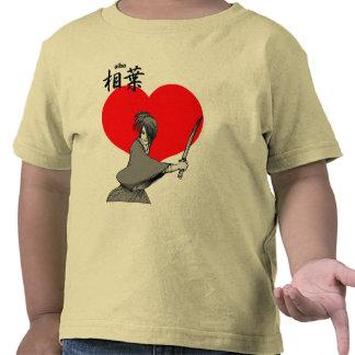 el aiba oye al samurai camisetas