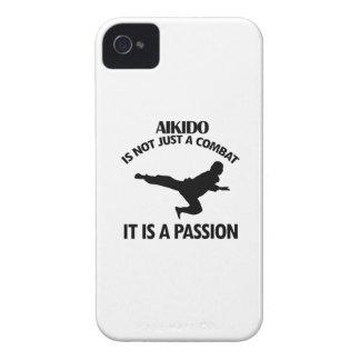 El AIKIDO se divierte diseños iPhone 4 Protector