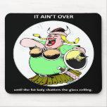él-aint-sobre-hasta que--gordo-señora tapete de raton