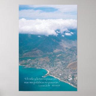 EL aire del desde de Oahu de la estafa de Lucas 21 Póster