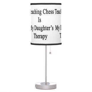 El ajedrez de enseñanza es la terapia de mi hija
