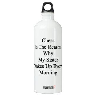 El ajedrez es la razón por la que mi hermana