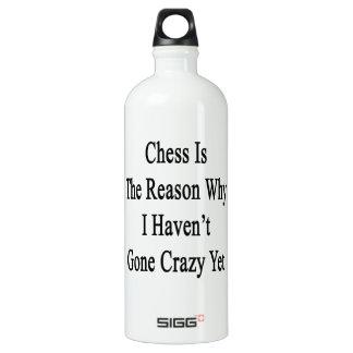 El ajedrez es la razón por la que no he ido loco