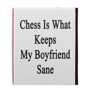 El ajedrez es qué mantiene a mi novio sano