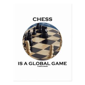 El ajedrez es un juego global (la actitud del ajed postal