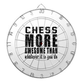 ¡El ajedrez más impresionante que lo que es usted Tabla Dardos