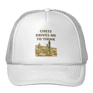 El ajedrez me conduce gorro