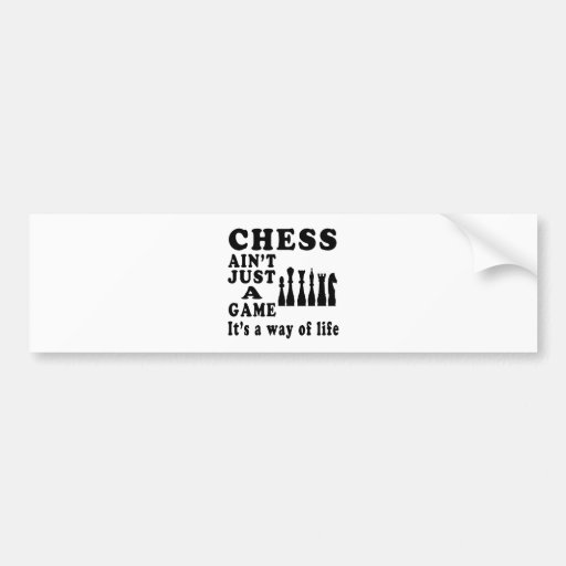 El ajedrez no es apenas un juego que es una manera etiqueta de parachoque