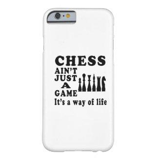 El ajedrez no es apenas un juego que es una manera funda de iPhone 6 barely there