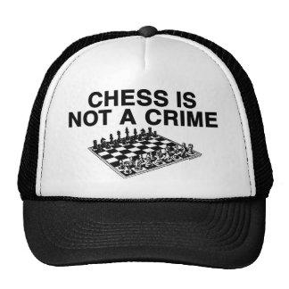 El ajedrez no es un crimen gorras