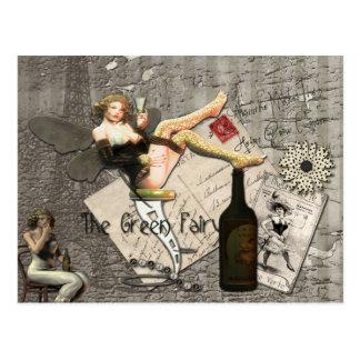 El ajenjo hace que el corazón crece más encariñado postales