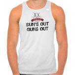 """El ajuste para la vida """"Sun hacia fuera dispara co Camiseta"""