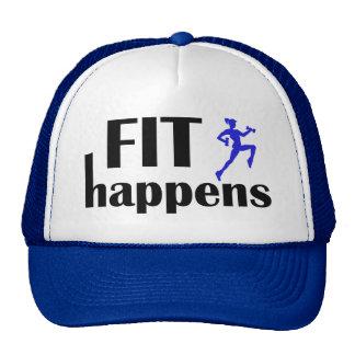El ajuste sucede motivación del entrenamiento gorras