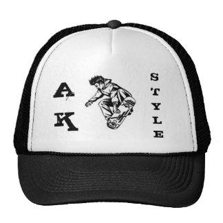 el ak talla el gorra del patín