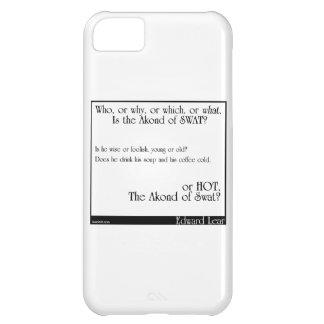 El Akond del golpe violento 2 Funda Para iPhone 5C