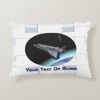 El Al Maslool Space Shuttle Accent Pillow