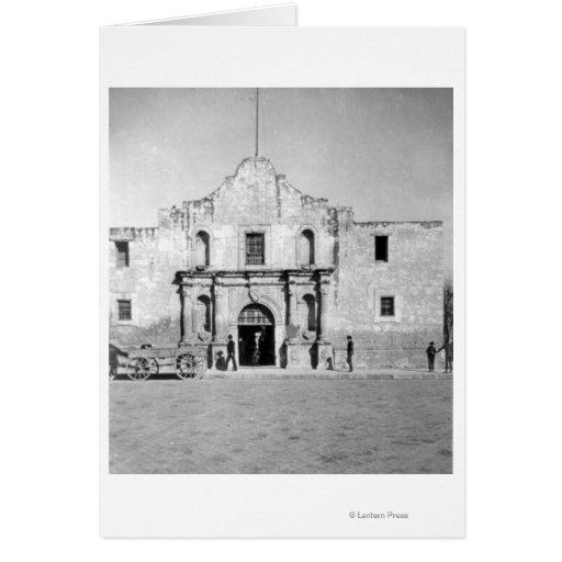El Álamo en San Antonio, TX 1 Tarjeta De Felicitación