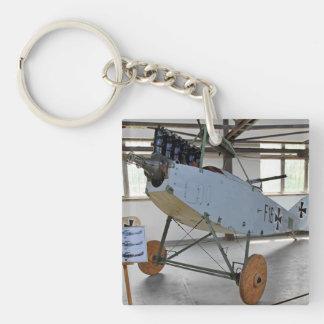 El Albatros D.III era un avión de combate del bipl Llaveros
