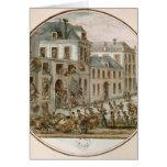 El alboroto de Reveillon de abril de 1789 Tarjetas