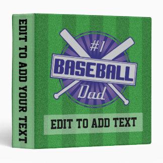 ¡El álbum de la carpeta del papá del béisbol #1, l
