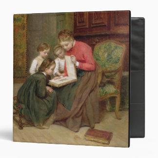 """El álbum de la familia, 1869 (aceite en lona) carpeta 1 1/2"""""""