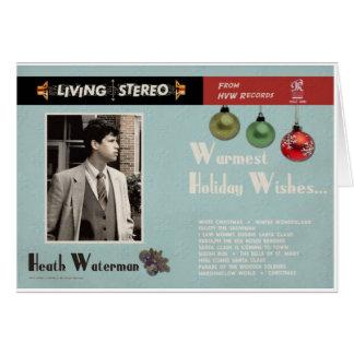 El álbum del navidad de los años 60 tarjeta de felicitación