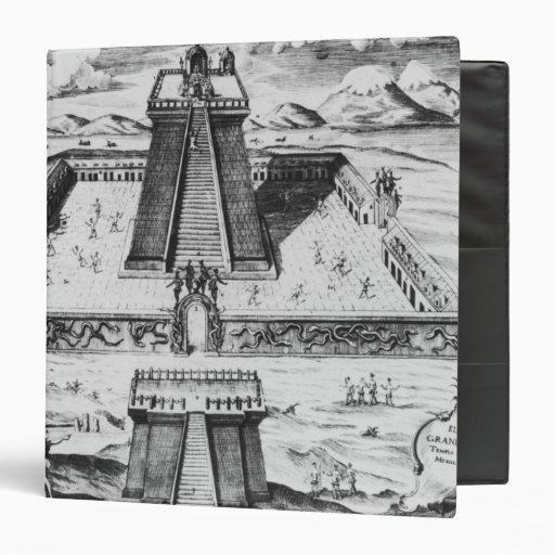 El alcalde de Templo en Tenochtitlan