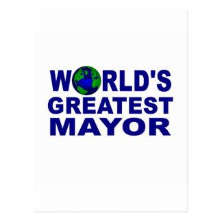 El alcalde más grande del mundo postales