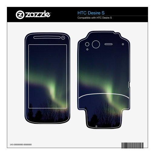 El alcanzar de la aurora de AR HTC Desire S Skins