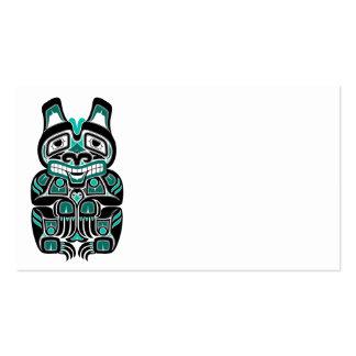 El alcohol azul del Haida del trullo refiere negro Plantillas De Tarjetas Personales