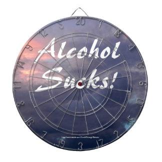El alcohol chupa el Dartboard