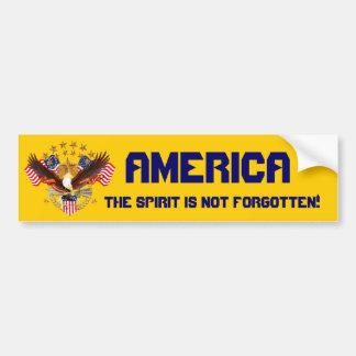 El alcohol de América no se olvida por favor consi Pegatina Para Auto