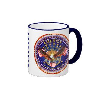 El alcohol de América no se olvida por favor consi Taza De Café