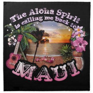 El alcohol de la hawaiana me está llamando de servilleta