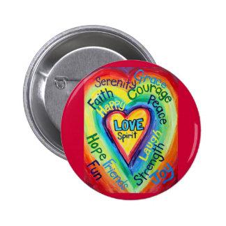El alcohol del corazón del arco iris redacta el bo pins