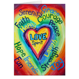 El alcohol del corazón del arco iris redacta la tarjetón