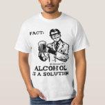 El alcohol es una solución en la química retra playera