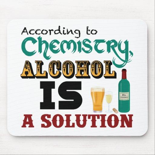 El alcohol es una solución tapetes de raton