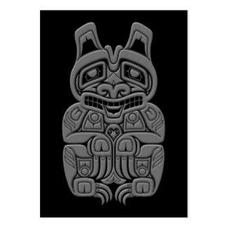 El alcohol gris del Haida refiere negro Tarjeta De Visita