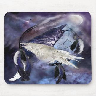 El alcohol Ravens el arte Mousepad
