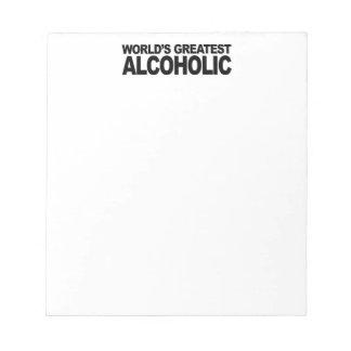 El alcohólico más grande del mundo blocs