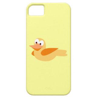 El alegre y divertido pato  volando iPhone 5 Case-Mate protector