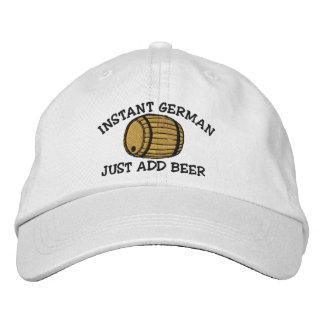 El alemán inmediato apenas añade el casquillo gorras de beisbol bordadas