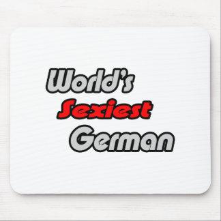El alemán más atractivo del mundo alfombrilla de ratones