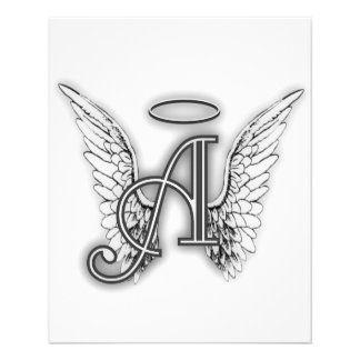 El alfabeto del ángel este último inicial se va flyer a todo color