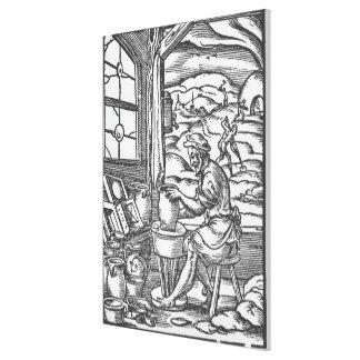 El alfarero, 1574 impresión en lienzo
