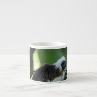El algodón remató la taza de la especialidad del T Taza Espresso