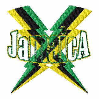 El aligeramiento de la bandera de Jamaica emperna  Polo