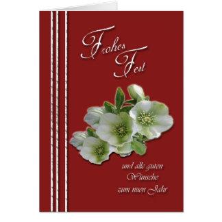El alle del und del Fest de Frohes guten el zum de Tarjeta De Felicitación