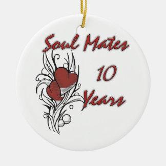 El alma acopla 10 años ornamentos para reyes magos